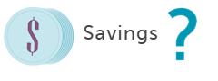 savings equals
